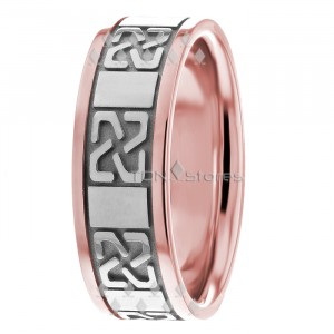 4f3bf6d884a86 Celtic Wedding Rings - Best Selection Bands Celtic Knot | TDN Stores