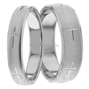 His Hers Matching Wedding Bands Matching Wedding Ring Sets TDN