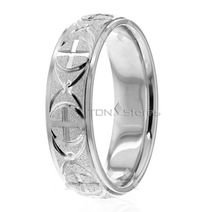 Rr282525 6 5mm Wide Christian Wedding Ring Tdn Stores