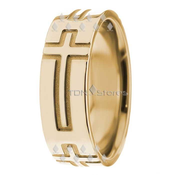 Phoenix 7mm Wide Christian Wedding Ring TDN Stores